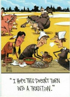 Thanksgiving - I hope this doesn't turn into a tradition.