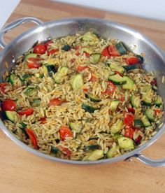 Orzo Side Dish