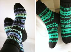Knitting Socks, Hand Knitting, Knitting Ideas, Knit Socks, Hand Knitted Sweaters, Diy Clothes, Handicraft, Mittens, Diy And Crafts