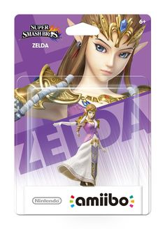 Princess Zelda amiibo (HD) I think this would be cool if I had a wii u