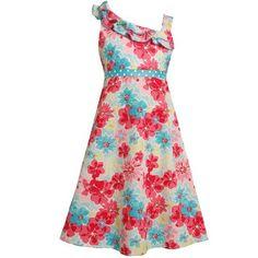 Size-12.5 BNJ-3554M FUCHSIA-PINK BLUE MULTI FLORAL PRINT ASYMMETRIC ONE-SHOULDER Spring Summer Girl Party Dress,M83554 Bonnie Jean Girl PLUS Bonnie Jean,http://www.amazon.com/dp/B007M0F0KQ/ref=cm_sw_r_pi_dp_Tdg9qb1BZSQ1DV84