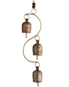 Rustic Hanging Temple Bell Wind Chime