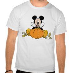 Mickey Mouse Sitting on Pumpkin Shirt http://www.zazzle.com/mickey_mouse_sitting_on_pumpkin_shirt-235204107552792500?rf=238312613581490875