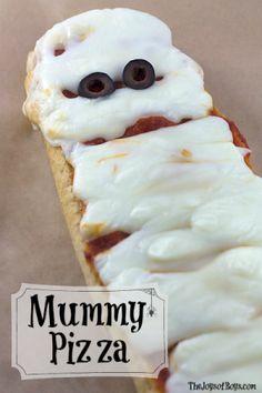Mummy Pizza