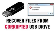 We are going to share three easiest methods that will help you to recover files from Corrupted USB drive. Go through the post to know about it.