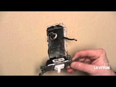 How to install a Light Switch
