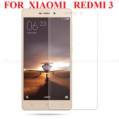 """5.0""""Original for Xiaomi Redmi 3 Tempered Glass 0.3MM redmi 3 glass 9H Surface Hardness  Explosion-proof Screen ProtectorFilm [Affiliate]"""
