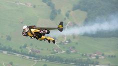 Breitling, sponsor of Yves «Jetman» Rossy