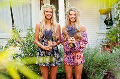 Flower Power ~ Secret Surprise Summer 2014 #flower #girls #blonde #hair #boho #festival #style #fashion #love #flowercrown