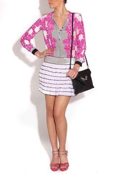 Vestido TAPESTRY de Miriam Ocáriz y zapatos de Serena Whitehaven