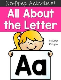 Letter A Activities - Use this FREE download with your preschool or Kindergarten classroom or home school students. You get a coloring page, printable worksheet, letter sort, letter maze, dot page, letter crown, and a letter book. This no prep resource is the perfect freebie to help with letter recognition, phonemic awareness, letters, centers, stations, and more with your preK or Kinder students. Grab it now!