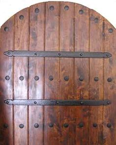 Spanish Style Wooden Gates | Gates and Garage Doors - San Diego, California