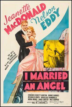 I Married an Angel (1942) Stars: Jeanette MacDonald, Nelson Eddy, Edward Everett Horton, Binnie Barnes ~ Directors: W.S. Van Dyke, Roy Del Ruth