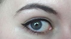 Hi, my name is Kelly, and I have hooded eyes. Mine aren't an extreme example; you can see some of my eyelids when my eyes are fully open. With some hooded eyes, you can't see any trace of an eyelid at all, as it seems to melt seamlessly into the brow