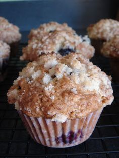 Blackberry Muffins | Annie's Eats made these with my blackberries from the Portland Farmer's Market! Excited for breakfast in the morning :)