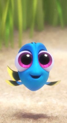 Finding Dory is the highest-grossing animated film debut! Probably due to how CU… Finding Dory is the highest-grossing animated film debut! Probably due to how CUTE baby Dory is! Disney Magic, Disney Art, Walt Disney Movies, Disney Cartoons, Disney Kunst, Cute Disney Wallpaper, Frozen Wallpaper, Disney Pictures, Disney Pics