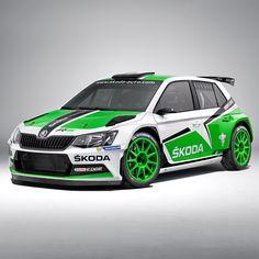Ready to Rallye: all-new Skoda Fabia Nascar, Tuning Motor, Bmw 318, Suzuki Swift, Skoda Fabia, Modified Cars, Rally Car, Hot Cars, Race Cars