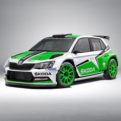 The new ŠKODA Fabia R5 is to continue the success story. The new high-tech construction is fitted with a 1.6 litre turbo engine.  That is a significant difference to the two-litre naturally aspirated petrol engine of the Fabia Super 2000 #R5