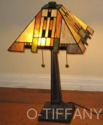 decorating mission style bedrooms houzz | Tiffany Style Stained Glass Table Lamp Aspen Mission