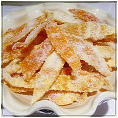Cukrozott narancshéj Hungarian Recipes, Apple Pie, My Recipes, Sweets, Apple Cobbler, Good Stocking Stuffers, Candy, Goodies, Treats