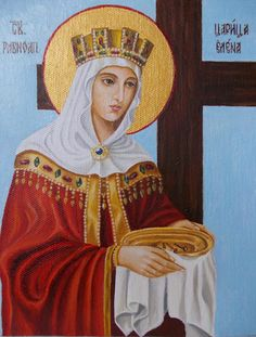 Saint Helena, Diy And Crafts, Saints, Blessed, Image, Orthodox Icons