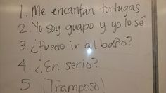 Tales from a Spanish Teacher: The 5 Phrase Skit #spanishlessonsfunny