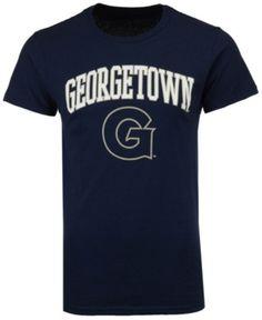 Retro Brand Men s Georgetown Hoyas Midsize T-Shirt - Blue XXL Georgetown  Hoyas 4b35e06f6823