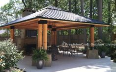 Free Standing pavillion | Gazebos are small free-standing and open-sided architectural features ...