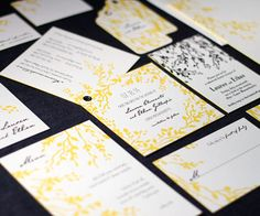 Custom Wedding Invitations and Stationery by Smock | Oh So Beautiful Paper