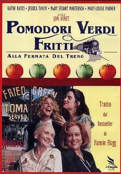 Pomodori verdi fritti: un libro di Fannie Flagg e un film di Jon Avnet. Una storia d'amore tra due donne nell'America del sud degli anni trenta.