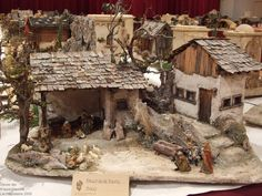 1 million+ Stunning Free Images to Use Anywhere Nativity Creche, Nativity Stable, Christmas Nativity Scene, Christmas Villages, Christmas Crib Ideas, Christmas Deco, Handmade Christmas, Christmas Crafts, Fairytale House