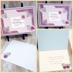 Birthday Card using some SU products Craftsbymeli@gmail.com
