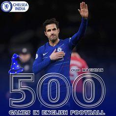 02/01/2019 - Cesc Fabregas completes 500 games in English premier league.
