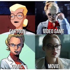 Dr. Harleen Quinzel Which one do you pick? #harleyquinn #harleenquinzel #joker #batman #margotrobbie #dccomics