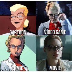 Dr. Harleen Quinzel Which one do you pick? #harleyquinn #harleenquinzel #joker #batman #margotrobbie #dccomics