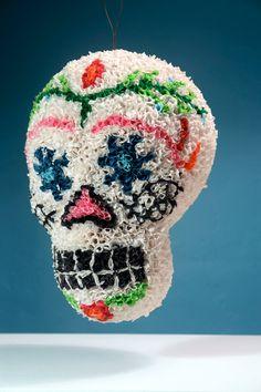 Sugar Skull Pinata @Rachel Morgan
