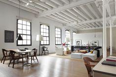 Un loft dans un ancien atelier de textiles - FrenchyFancy