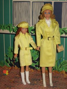 No, that's not Barbie and Skipper, that's Midge, Barbie's friend and Skooter, Skipper's friend.