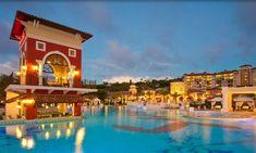 Sandals Grande Antigua Resort: 11 restaurants, 5 bars, 6 pools, unlimited sports