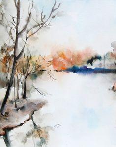 Stampa di parete pittura arte stampa albero e di CanotStopPrints