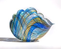 Another gorgeous glass cloud by Nancy Callan.