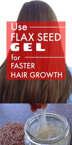 Flax seed Gel for Fast Hair Growth - 2 inch hair growth in just 30 days Homemade Hair Gel, Flaxseed Gel, Hair Tricks, Grow Long Hair, Fast Hairstyles, Longer Hair, Hair Growth Tips, Shiny Hair, About Hair