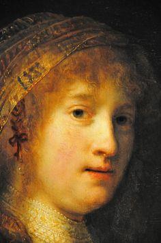 Rembrandt van Rijn - Saskia van Uylenburgh, the Wife of the Artist