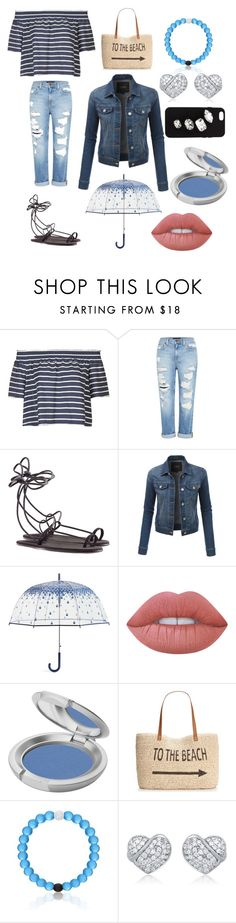 """""""Summer Sail Outfit"""" by anitta-ball ❤ liked on Polyvore featuring Topshop, Genetic Denim, Chloé, LE3NO, Vera Bradley, Lime Crime, T. LeClerc, Style & Co. and STELLA McCARTNEY"""