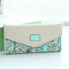 Attra-Yo! Women Wallets dollar price Leather Wallet  Day Clutch Purse Female Long wallet Carteira Feminina pouch LS4407ay