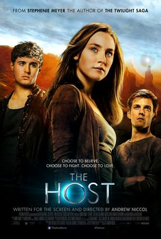The Host (2013) I'm so glad they're making this a movie!!!