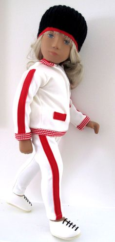 "16"" vinyl blonde Wintersport Sasha doll, from the abortive final year of English production, made in a reduced edition of around 400 pieces, United Kingdom, 1986, by Sasha Dolls Ltd. (formerly Trendon)."