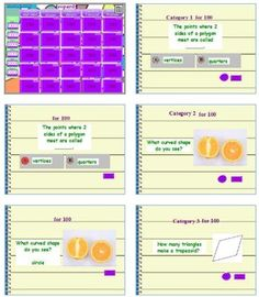 Go Math! Chapter 12 jeopardy review game