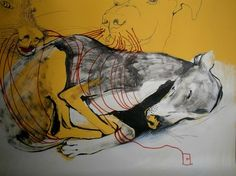 "Saatchi Art Artist olga gal; Drawing, ""Caught in a dream"" #art"