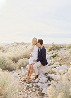 Ciara Richardson Photography, Utah Wedding Photographer, Antelope Island, Engagements